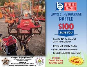 Lawn Care Raffle